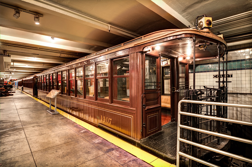 Image result for ny transit museum