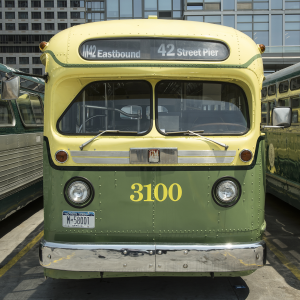 GM Vintage Fleet Bus 3100