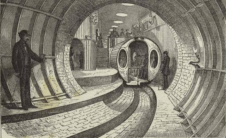 Alfred Beach Pneumatic Subway