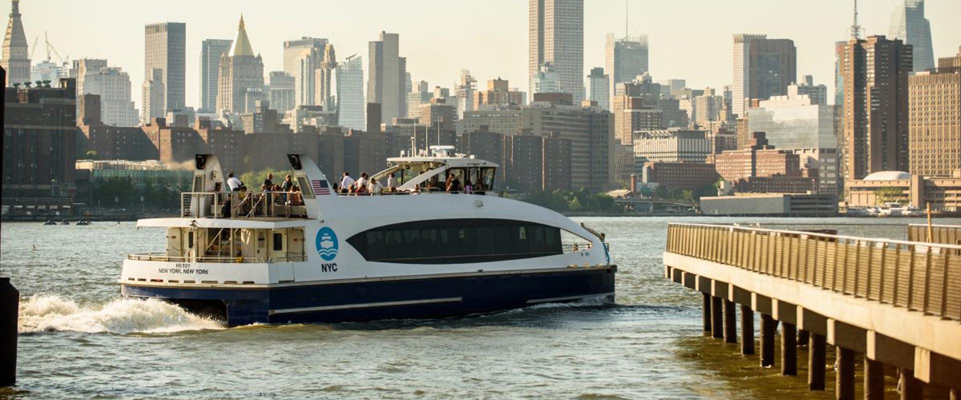 NYC Ferry - New York Transit Museum